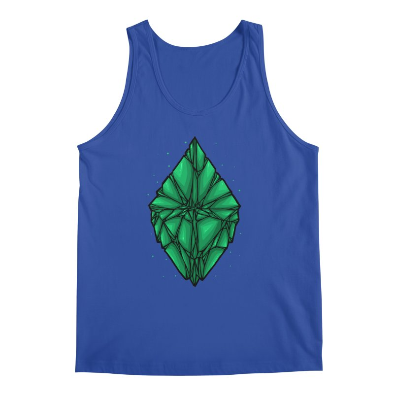 Green diamond Men's Regular Tank by barmalisiRTB