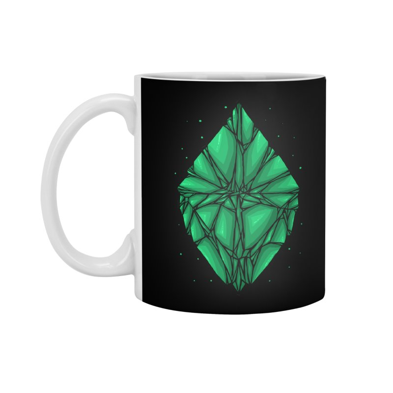 Green diamond Accessories Standard Mug by barmalisiRTB