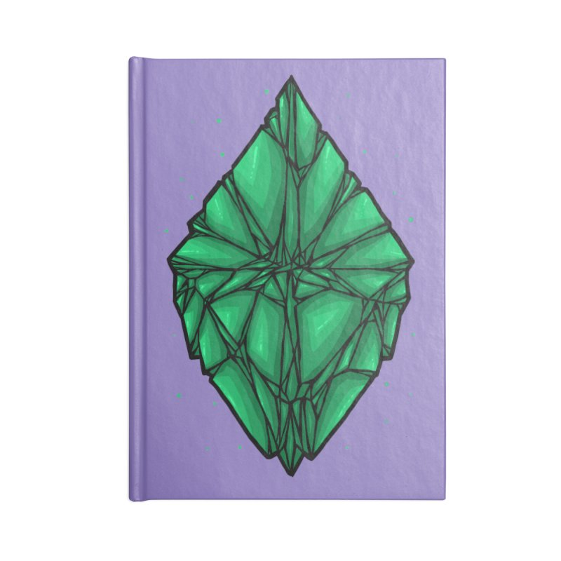 Green diamond Accessories Notebook by barmalisiRTB