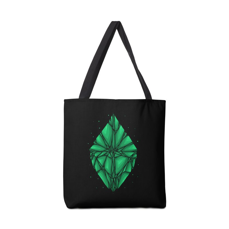 Green diamond Accessories Tote Bag Bag by barmalisiRTB