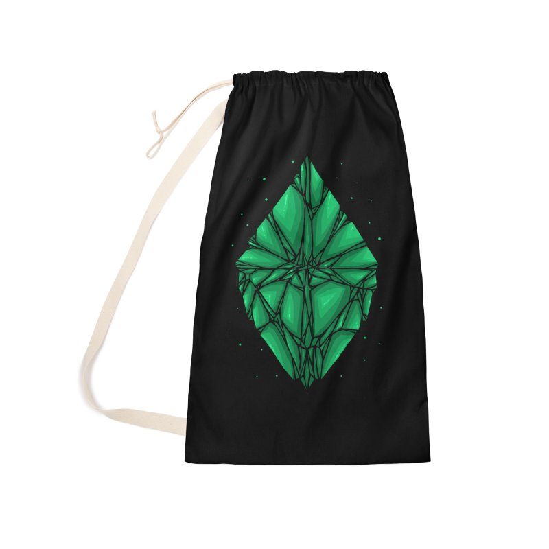 Green diamond Accessories Laundry Bag Bag by barmalisiRTB