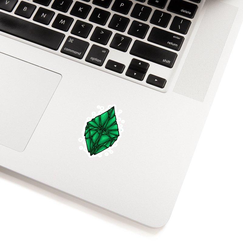 Green diamond Accessories Sticker by barmalisiRTB