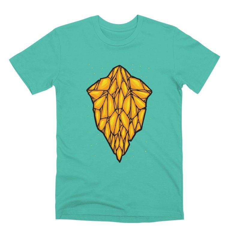 Yellow diamond Men's Premium T-Shirt by barmalisiRTB