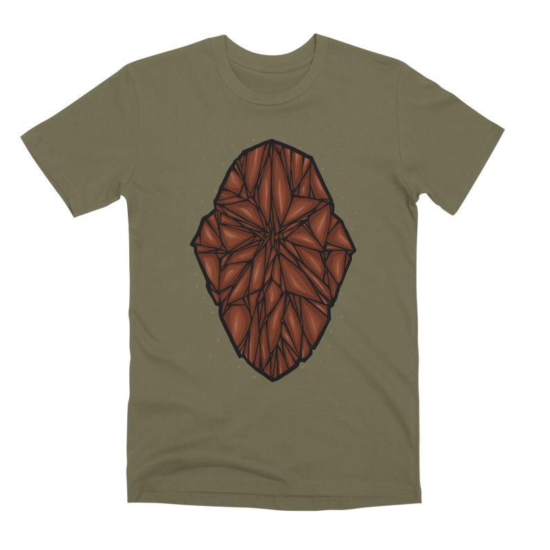Brown diamond Men's Premium T-Shirt by barmalisiRTB