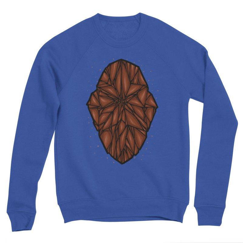 Brown diamond Women's Sponge Fleece Sweatshirt by barmalisiRTB