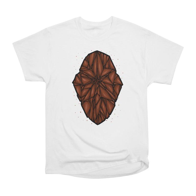 Brown diamond Men's Heavyweight T-Shirt by barmalisiRTB