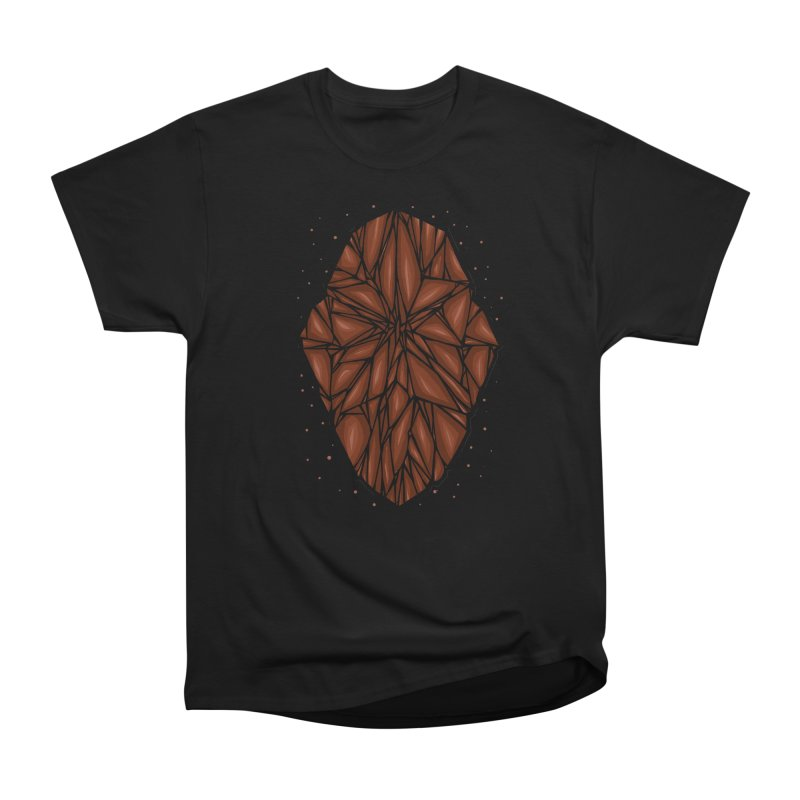 Brown diamond Women's Heavyweight Unisex T-Shirt by barmalisiRTB