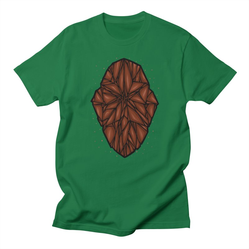 Brown diamond Women's Regular Unisex T-Shirt by barmalisiRTB
