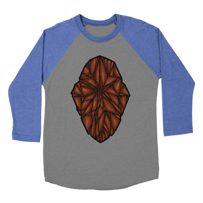 Brown diamond Men's Baseball Triblend Longsleeve T-Shirt by barmalisiRTB