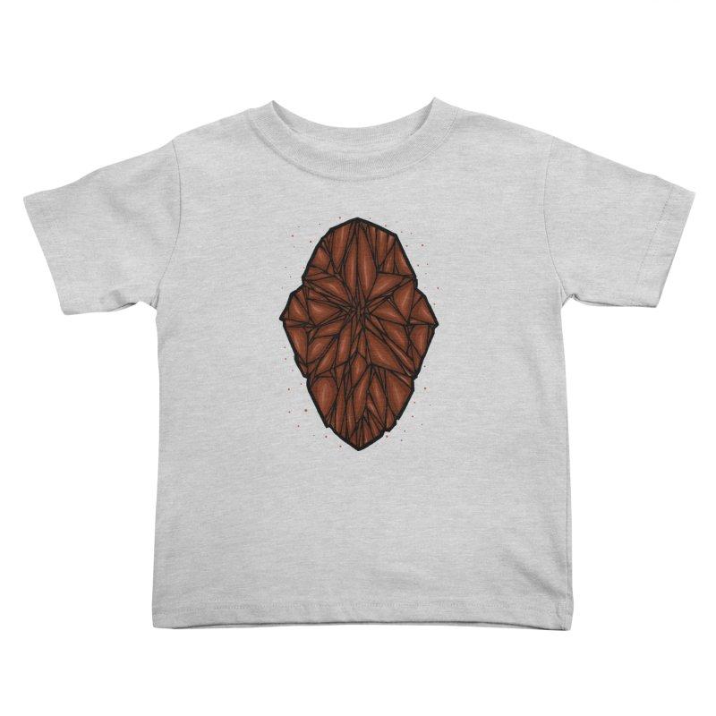 Brown diamond Kids Toddler T-Shirt by barmalisiRTB