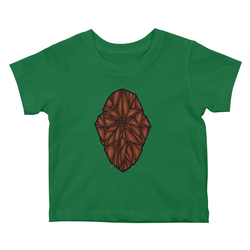 Brown diamond Kids Baby T-Shirt by barmalisiRTB
