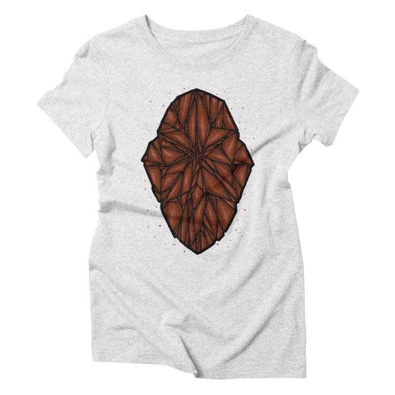 Brown diamond Women's Triblend T-Shirt by barmalisiRTB