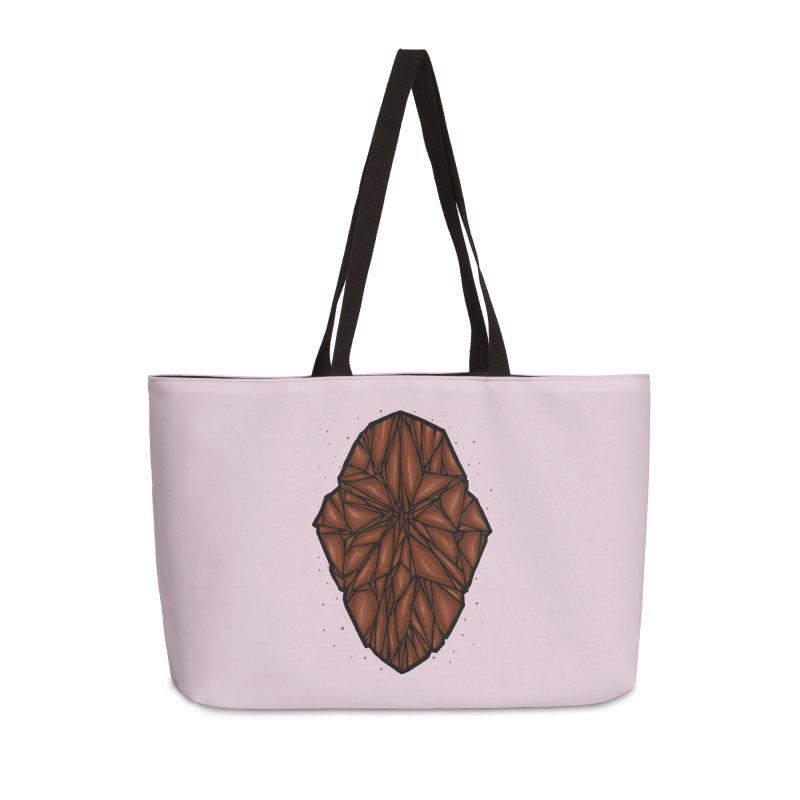 Brown diamond Accessories Weekender Bag Bag by barmalisiRTB