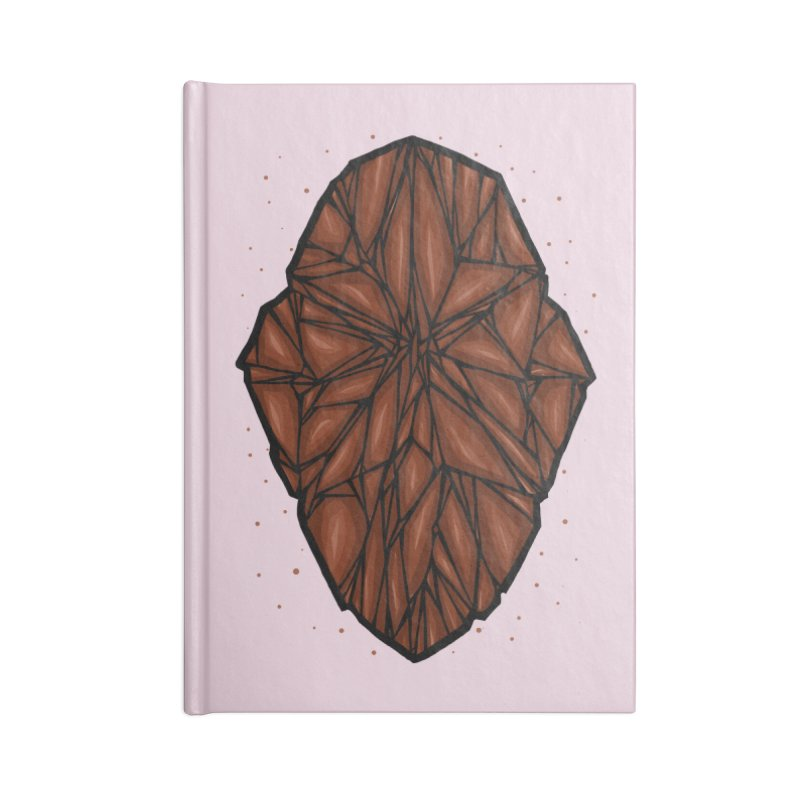 Brown diamond Accessories Blank Journal Notebook by barmalisiRTB