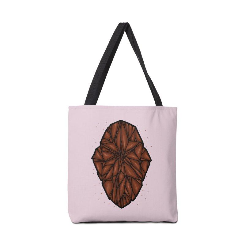 Brown diamond Accessories Tote Bag Bag by barmalisiRTB