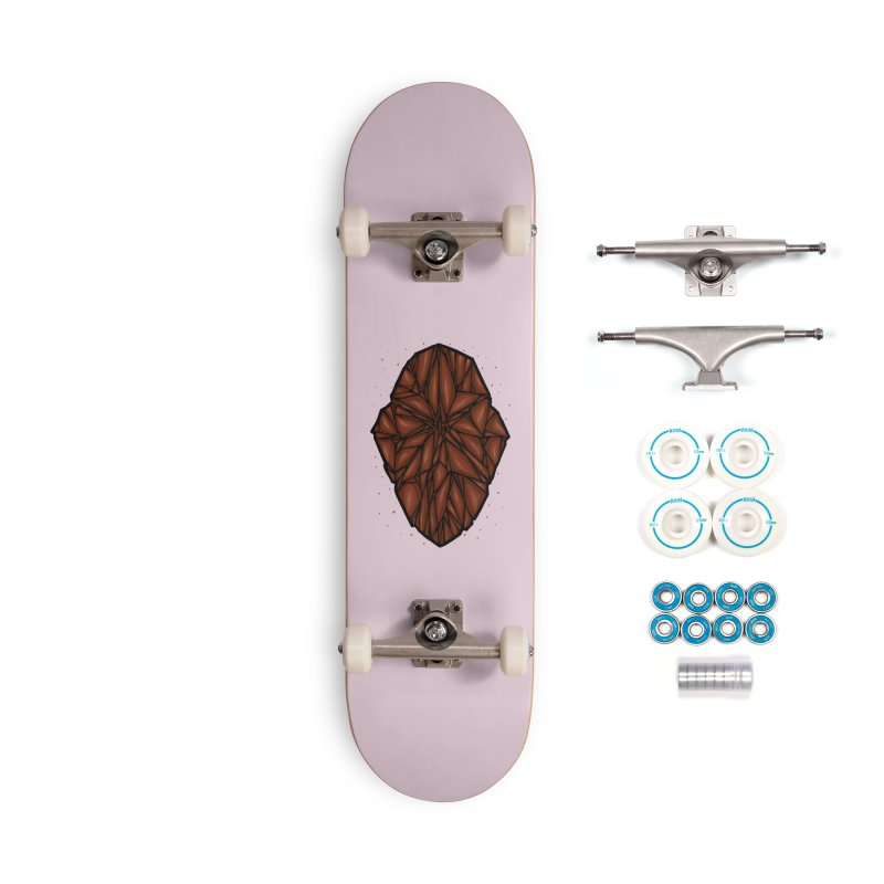 Brown diamond Accessories Complete - Basic Skateboard by barmalisiRTB