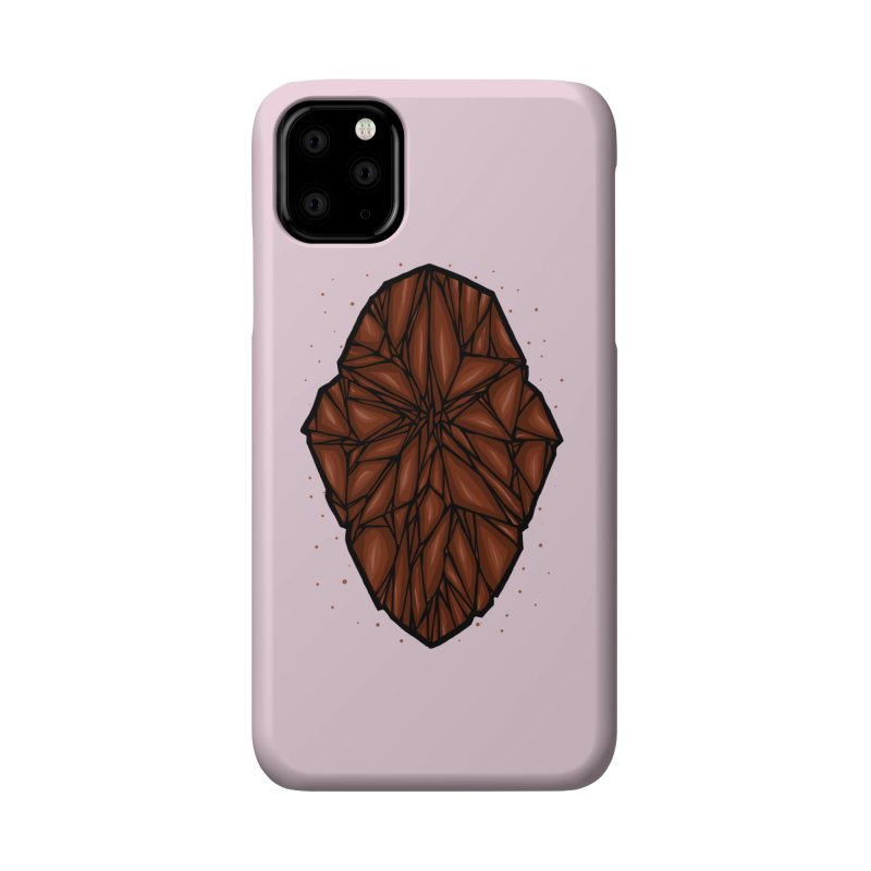 Brown diamond Accessories Phone Case by barmalisiRTB