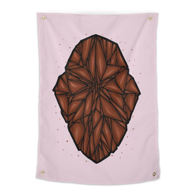 Brown diamond Home Tapestry by barmalisiRTB