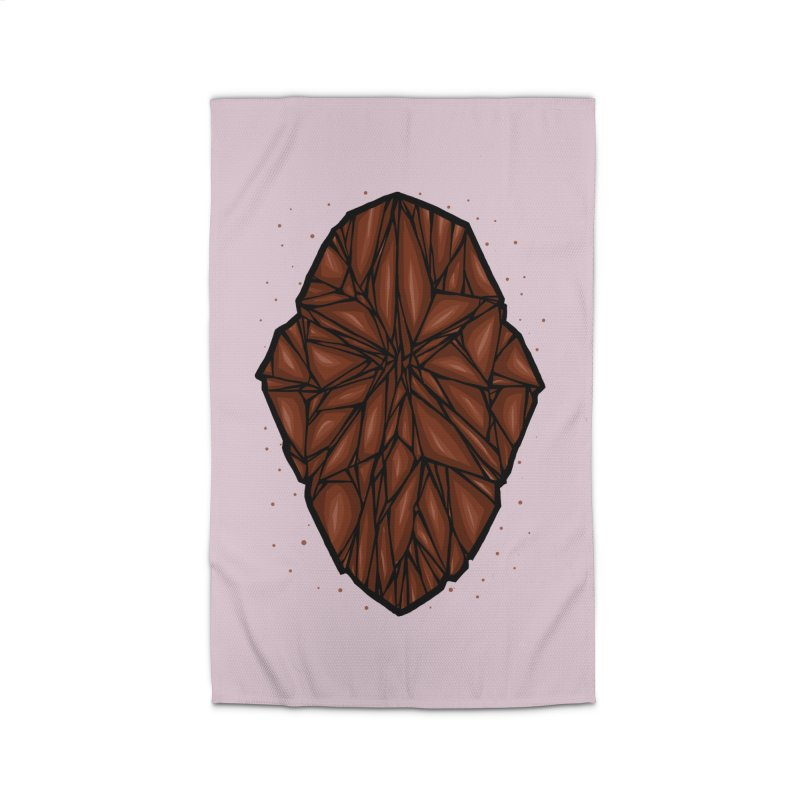 Brown diamond Home Rug by barmalisiRTB