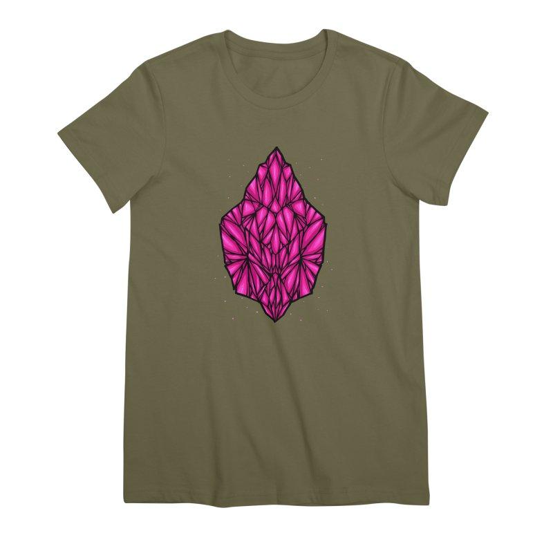 Pink diamond Women's Premium T-Shirt by barmalisiRTB