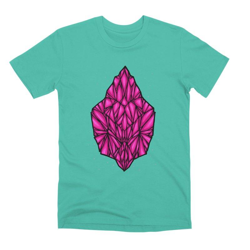 Pink diamond Men's Premium T-Shirt by barmalisiRTB