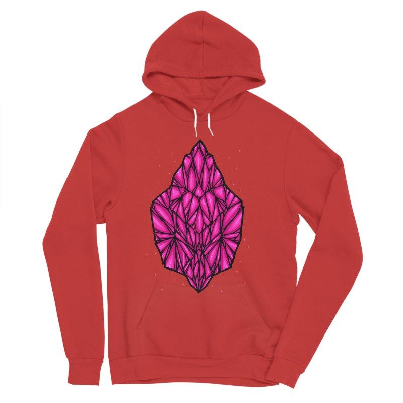 Pink diamond Women's Sponge Fleece Pullover Hoody by barmalisiRTB