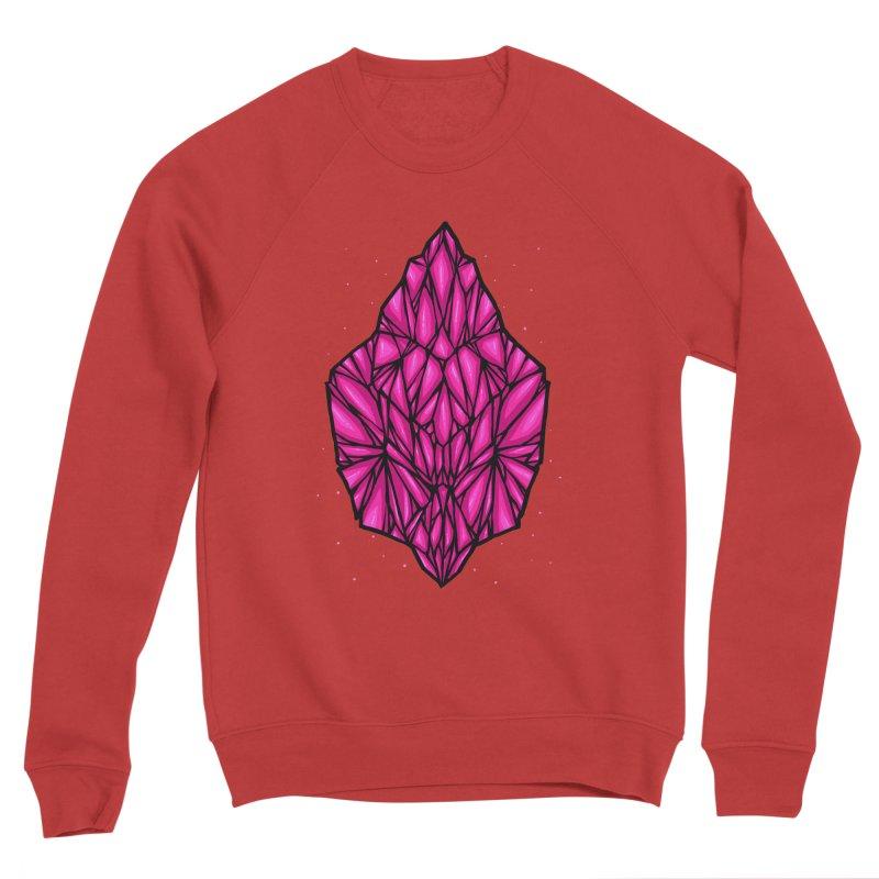 Pink diamond Men's Sponge Fleece Sweatshirt by barmalisiRTB