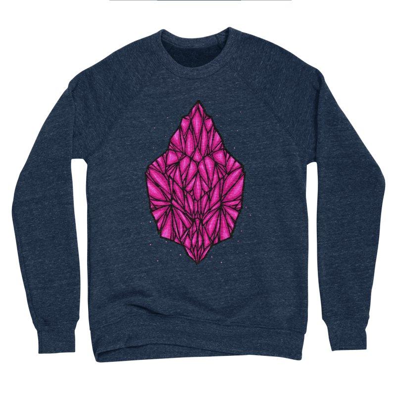 Pink diamond Women's Sponge Fleece Sweatshirt by barmalisiRTB