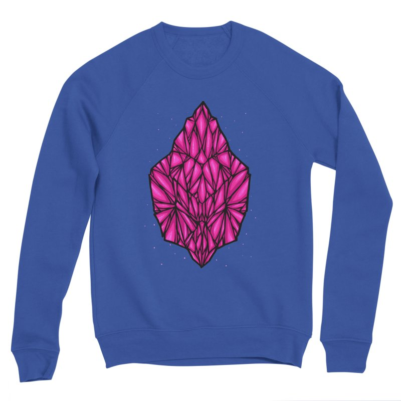 Pink diamond Men's Sponge Fleece Sweatshirt by barmalisiRTB