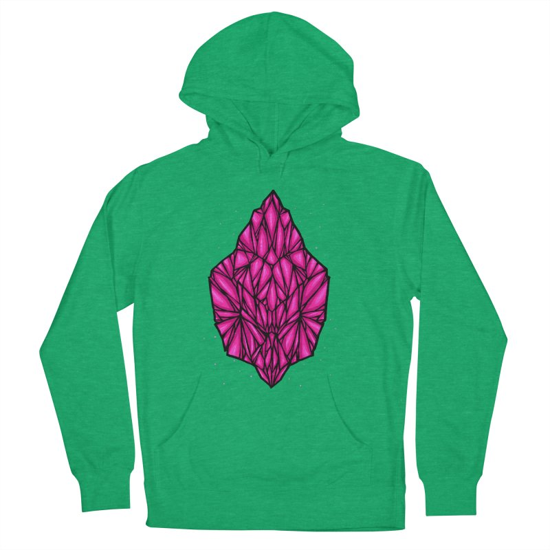 Pink diamond Women's French Terry Pullover Hoody by barmalisiRTB