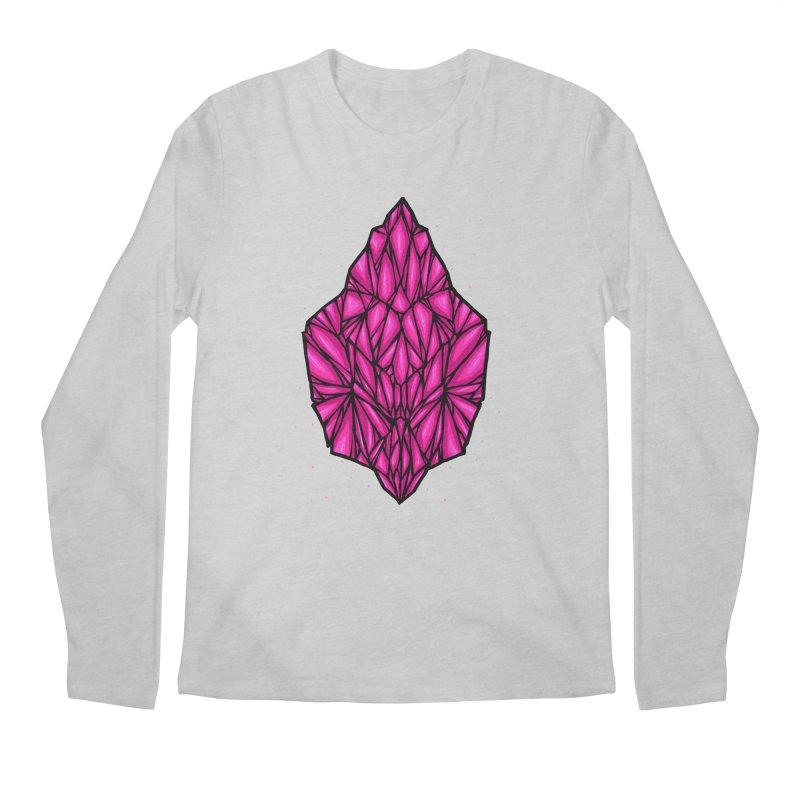 Pink diamond Men's Regular Longsleeve T-Shirt by barmalisiRTB