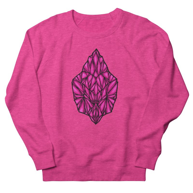 Pink diamond Women's French Terry Sweatshirt by barmalisiRTB