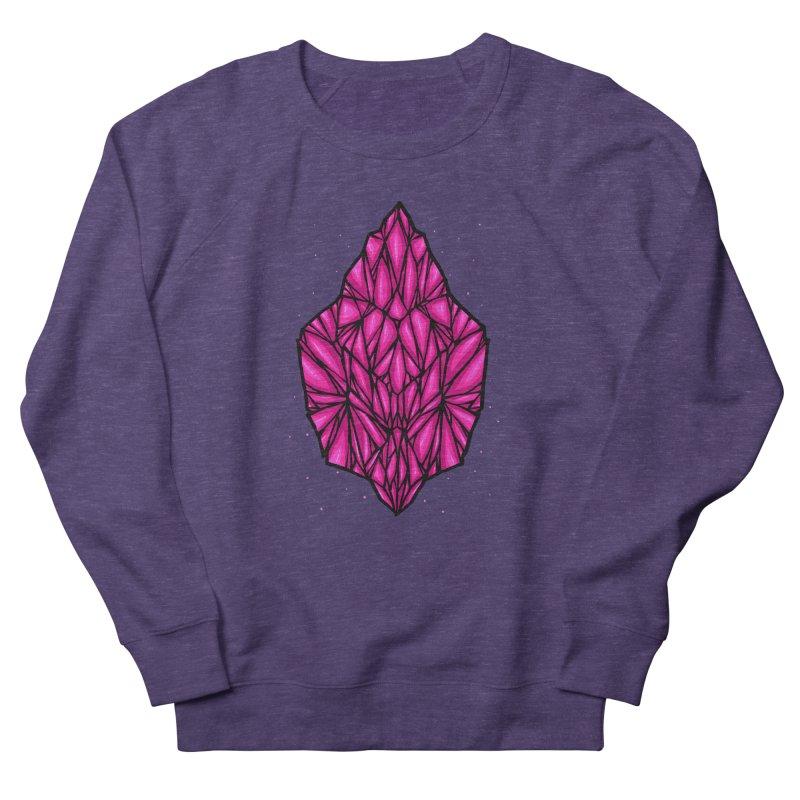 Pink diamond Men's French Terry Sweatshirt by barmalisiRTB