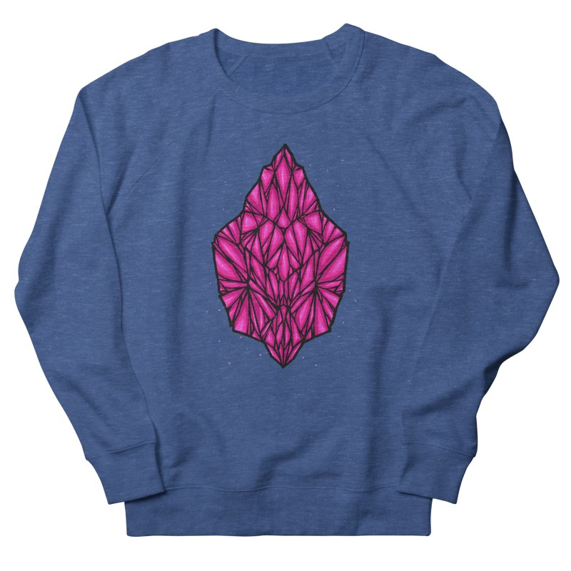 Pink diamond Men's French Terry Sweatshirt by barmalisiRTB