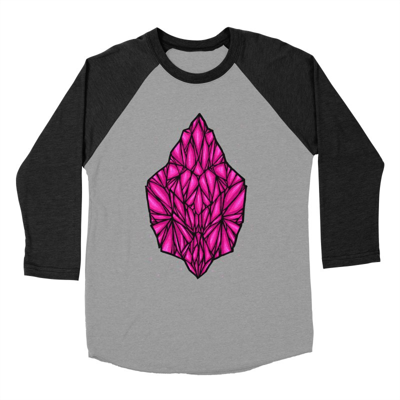 Pink diamond Women's Baseball Triblend Longsleeve T-Shirt by barmalisiRTB