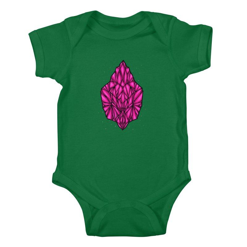 Pink diamond Kids Baby Bodysuit by barmalisiRTB