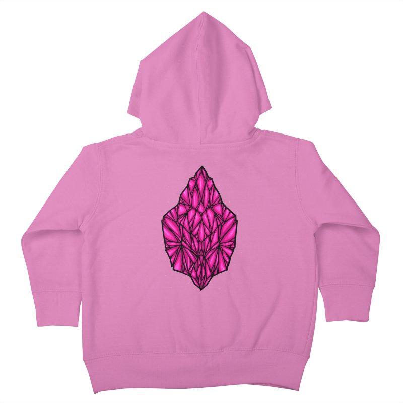 Pink diamond Kids Toddler Zip-Up Hoody by barmalisiRTB