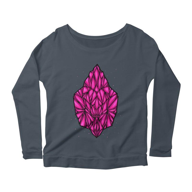 Pink diamond Women's Scoop Neck Longsleeve T-Shirt by barmalisiRTB