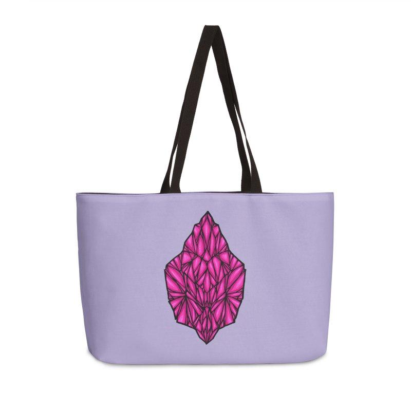 Pink diamond Accessories Weekender Bag Bag by barmalisiRTB
