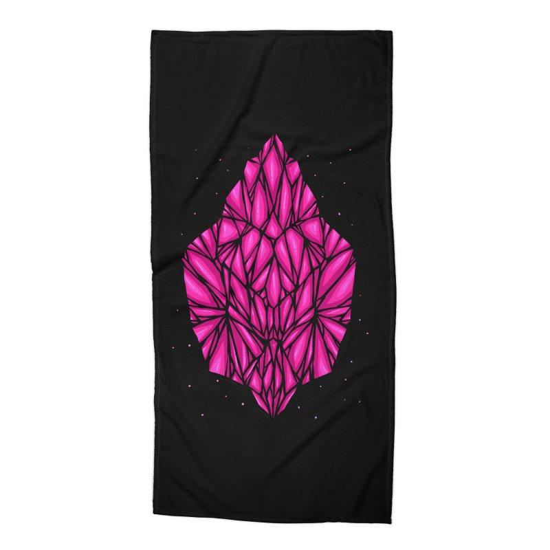 Pink diamond Accessories Beach Towel by barmalisiRTB