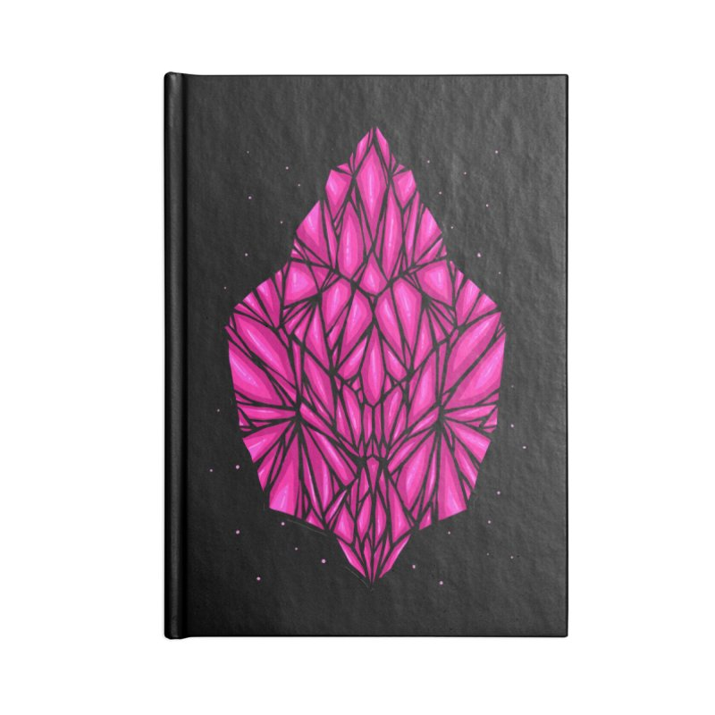 Pink diamond Accessories Lined Journal Notebook by barmalisiRTB