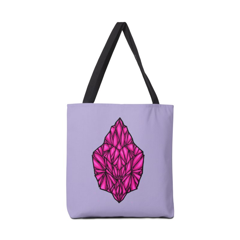 Pink diamond Accessories Tote Bag Bag by barmalisiRTB