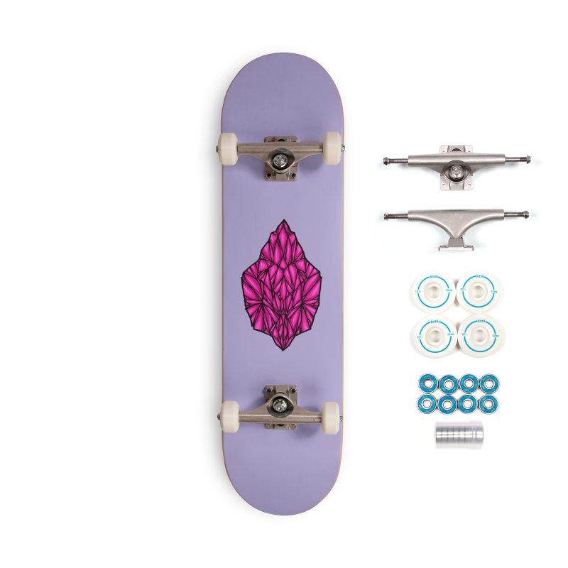 Pink diamond Accessories Complete - Basic Skateboard by barmalisiRTB