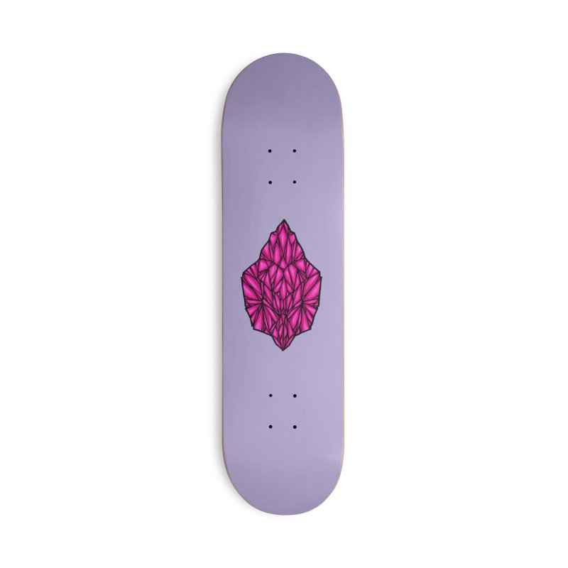 Pink diamond Accessories Deck Only Skateboard by barmalisiRTB
