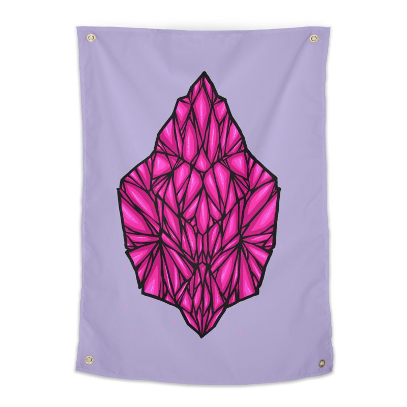 Pink diamond Home Tapestry by barmalisiRTB