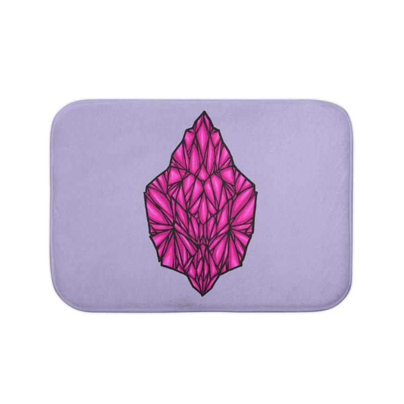 Pink diamond Home Bath Mat by barmalisiRTB
