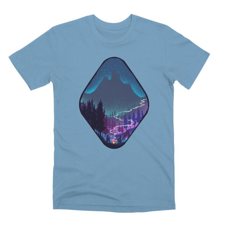 Warmth of love Men's Premium T-Shirt by barmalisiRTB
