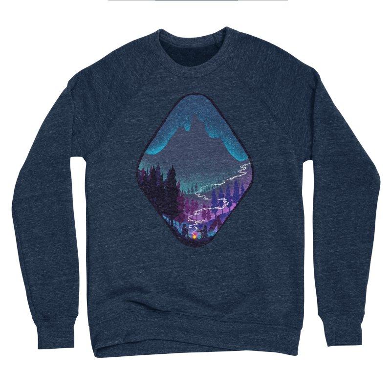 Warmth of love Men's Sponge Fleece Sweatshirt by barmalisiRTB
