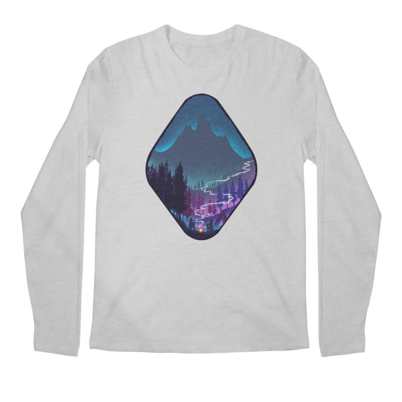 Warmth of love Men's Regular Longsleeve T-Shirt by barmalisiRTB