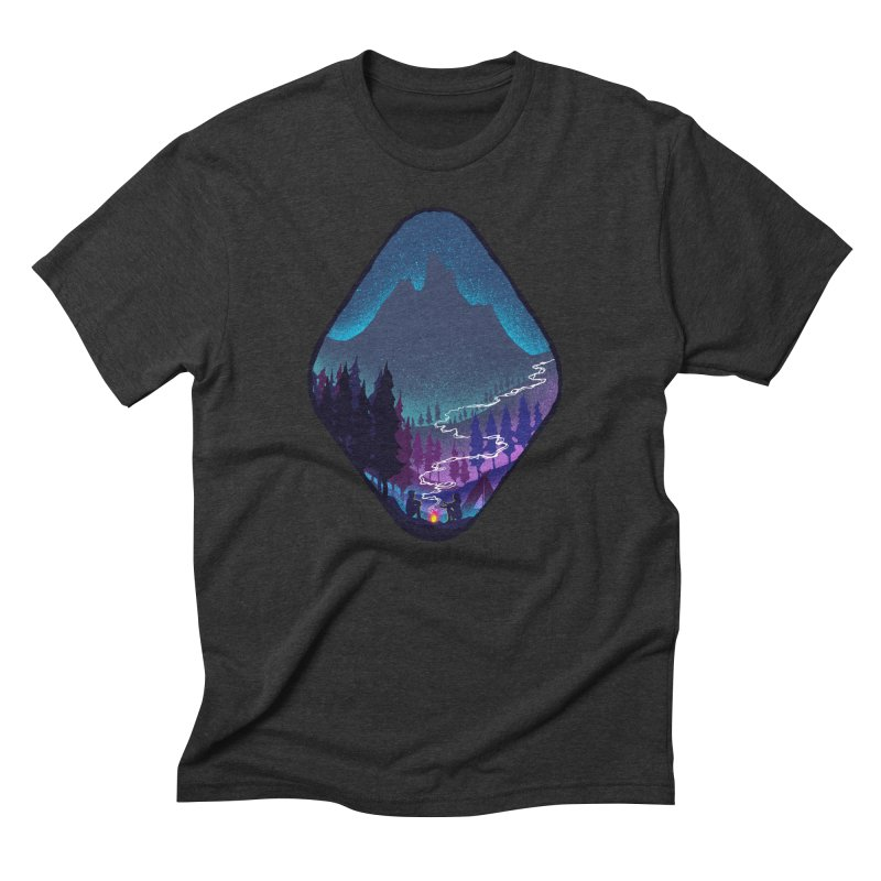 Warmth of love Men's Triblend T-Shirt by barmalisiRTB
